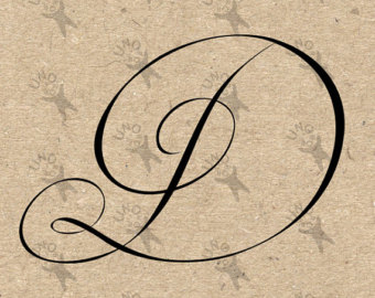 Showing Gallery For Calligraphy Letter D