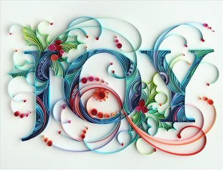Today I Share Her Colorful Scrolls Lovely Letters And One
