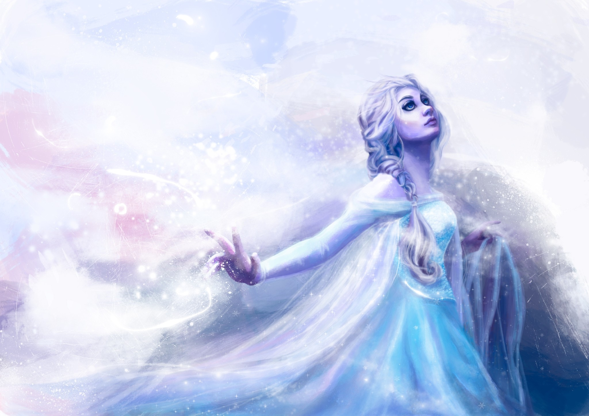 Wallpaper Snow Queen Elsa             Frozen Walt Disney