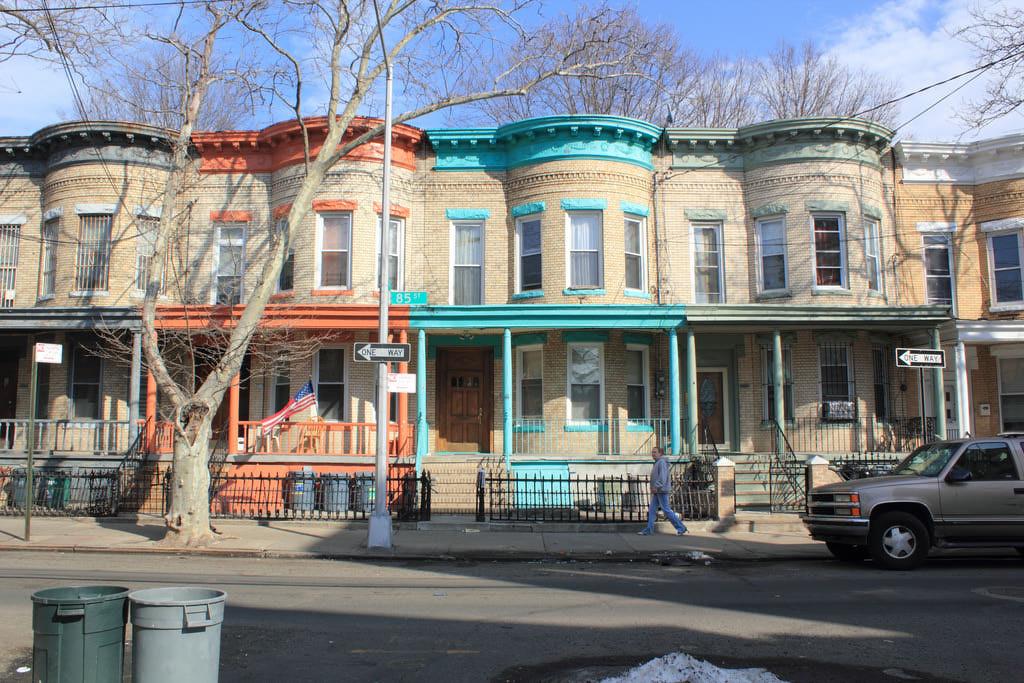 New York Row Houses : New york row houses clipart suggest