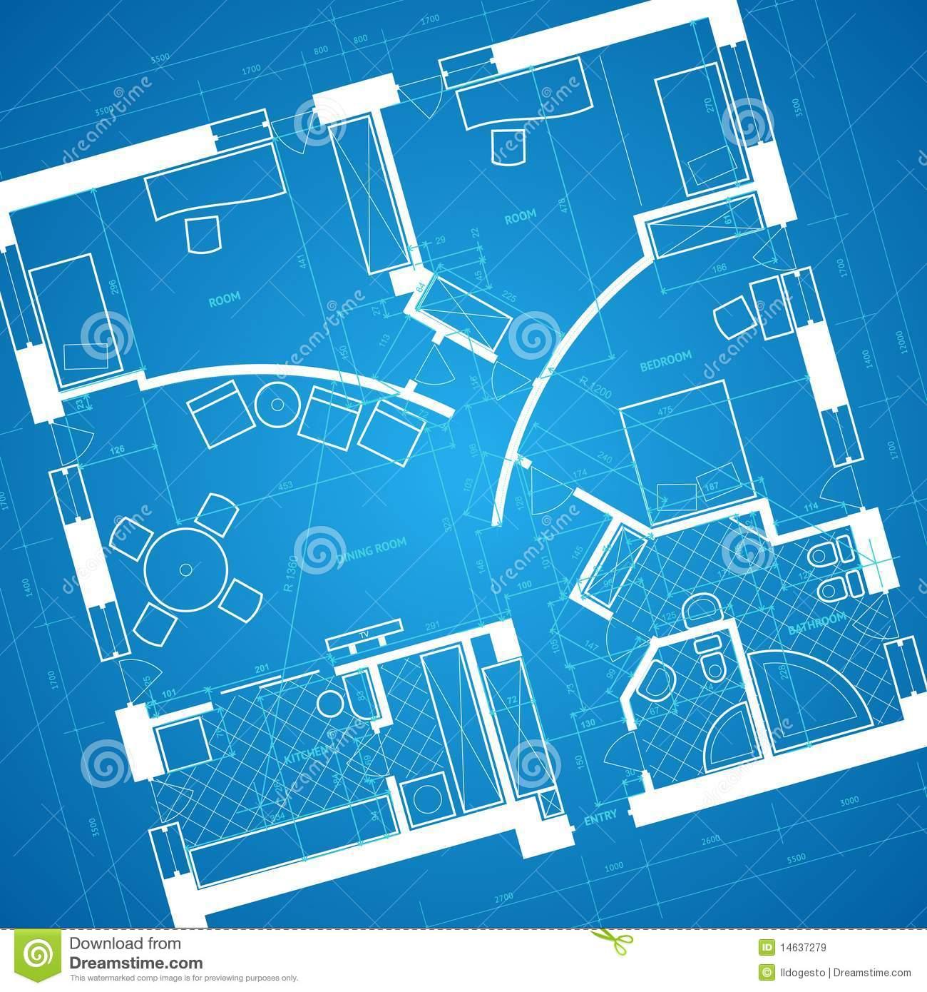 Blueprint Background Royalty Free Stock Images   Image  14637279