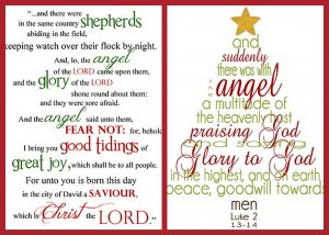 Christmas Scripture