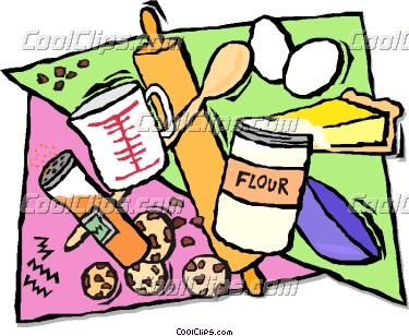 Clip Art Baking Ingredients Clipart - Clipart Kid