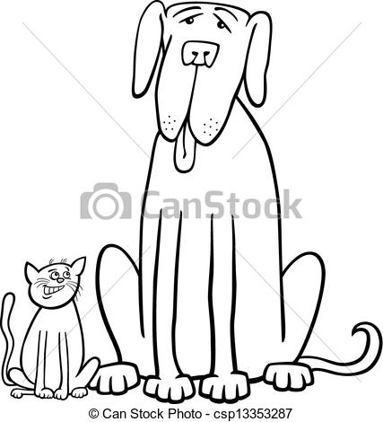 Cute Dog Clip Art Black And White   Clipart Panda   Free Clipart