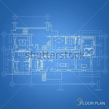 File Browse   Interiors   Architectural Background   House Blueprint