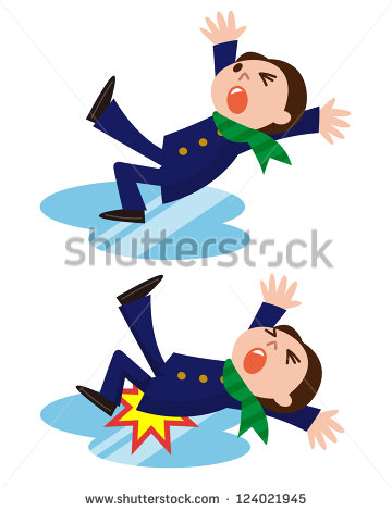 Man Slipping Stock Photos Images   Pictures   Shutterstock