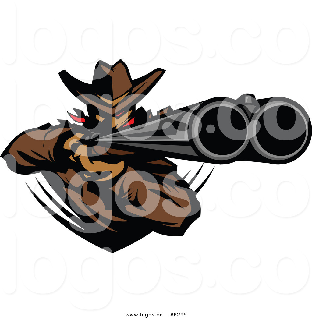Outlaw Cowboy Skull Clipart - Clipart Kid