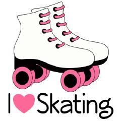 Clip Art Roller Skates Clip Art roller skate clipart kid pink clip art http www homewiseshopperkids com shop