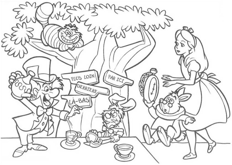 Back   Gallery For   Mad Hatter Tea Party Clipart