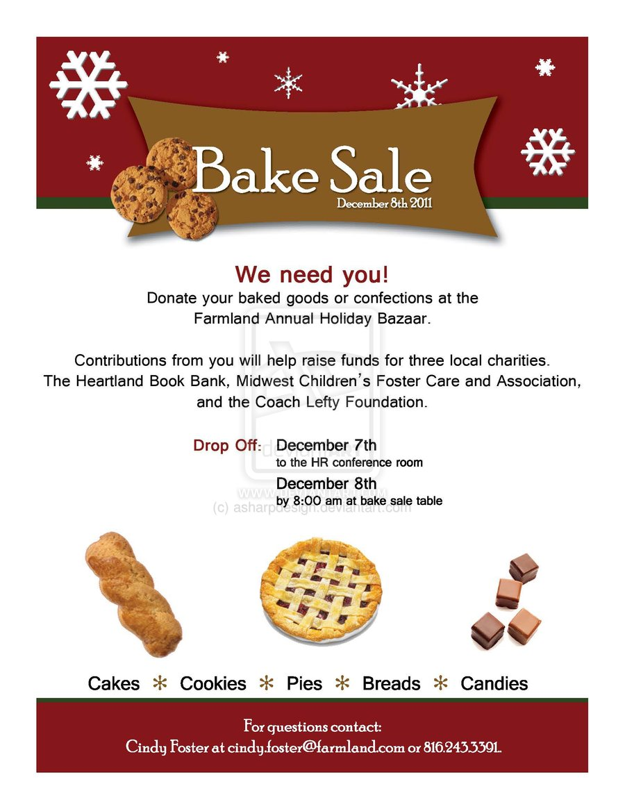 bake clipart kid bake flyer by asharpdesign on clipart bake fundraiser