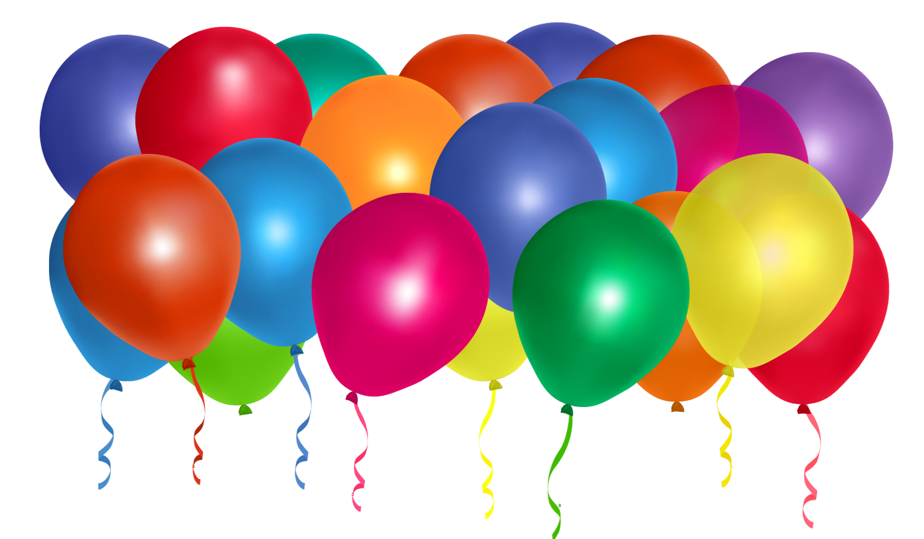 Balloon No Background Clipart - Clipart Kid