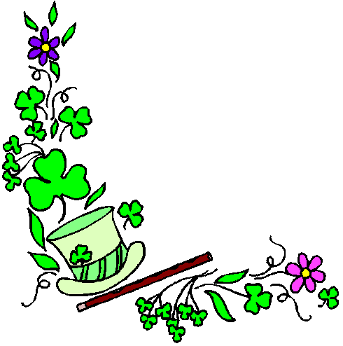 St. Patrick's Day Borders Clipart - Clipart Kid