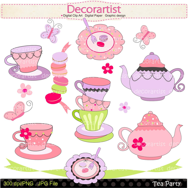 Ladies Tea Party Clipart - Clipart Suggest