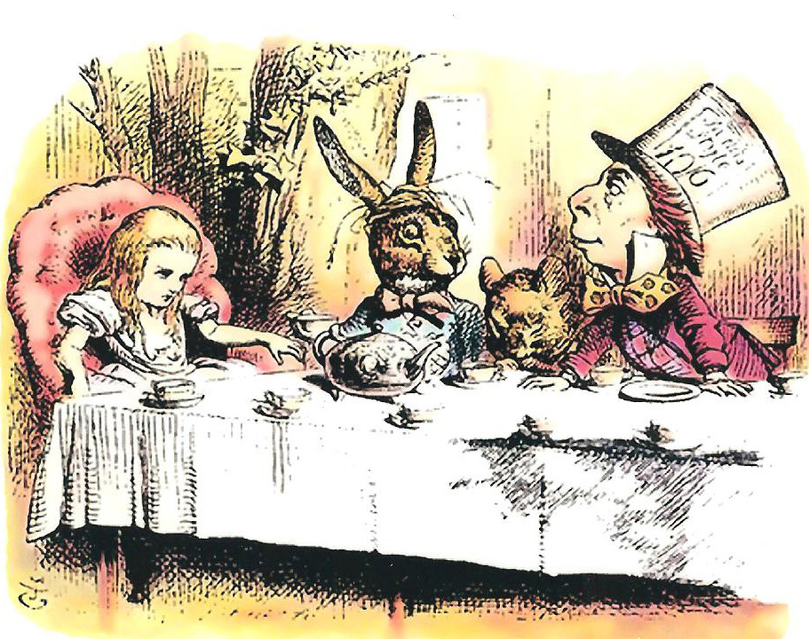 Mad Hatter Tea Party   T Ching