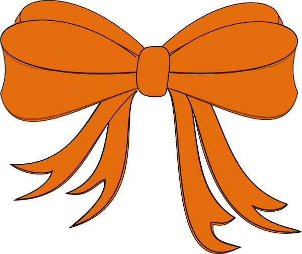 Orange Ribbon Clip Art At Clker Com   Vector Clip Art Online Royalty