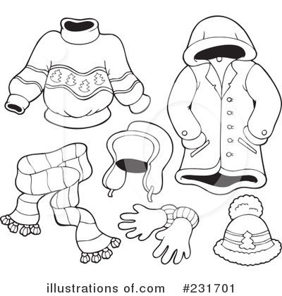 Clothes Black And White Clipart - Clipart Kid
