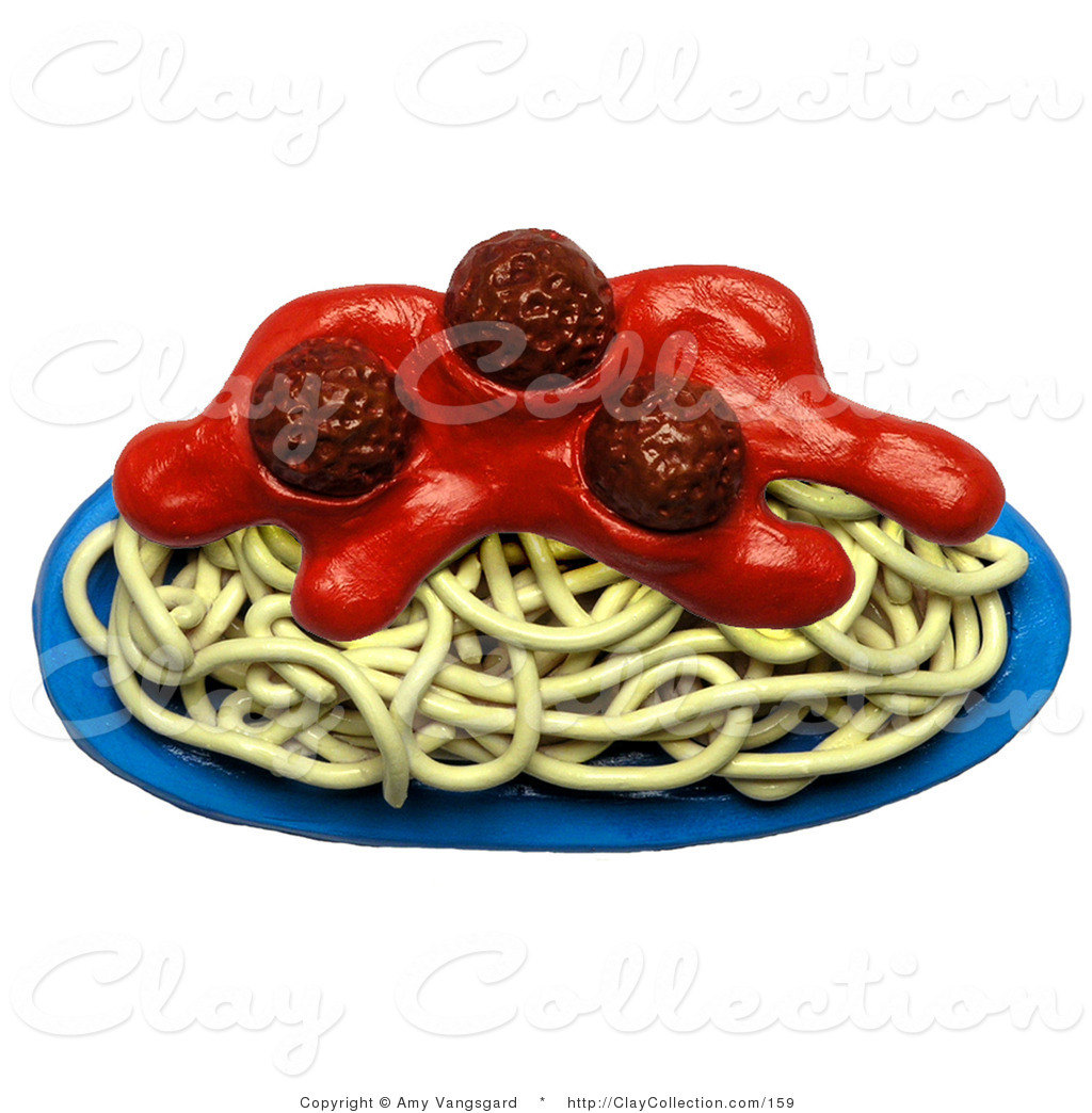 Animated Spaghetti Meatballs Clipart