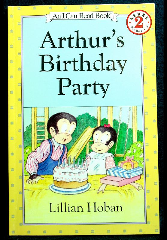 Arthur S Birthday Party By Lillian Hoban   Genesisarts And Books