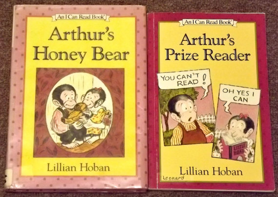 Arthur S Prize Reader And Arthur S Honey Bear By Lillian Hoban