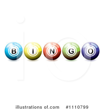 Bingo Clipart  1110799   Illustration By Michaeltravers