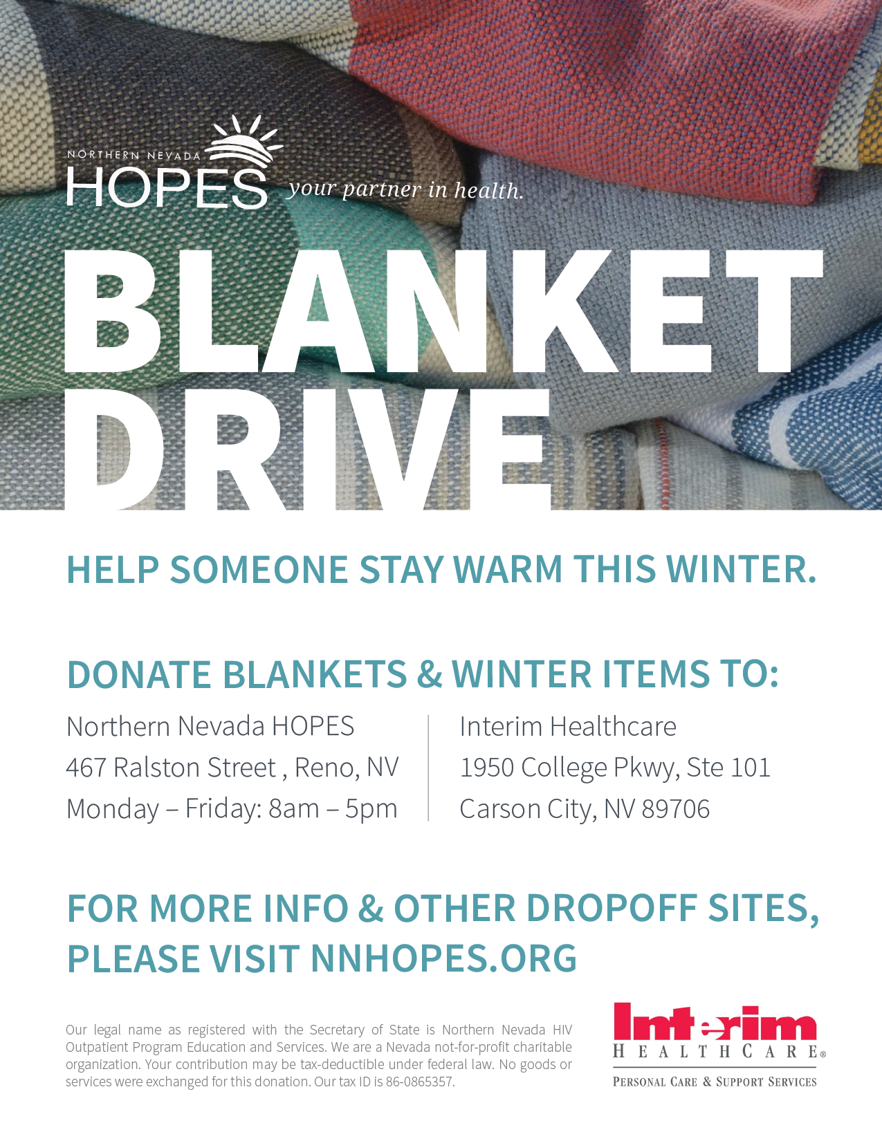 Clothing Drive Flyer Template Winter Clothing Drive Flyer Ad – Donation Flyer Template