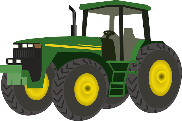 Back View Of A Tractor Clipart - Clipart Kid