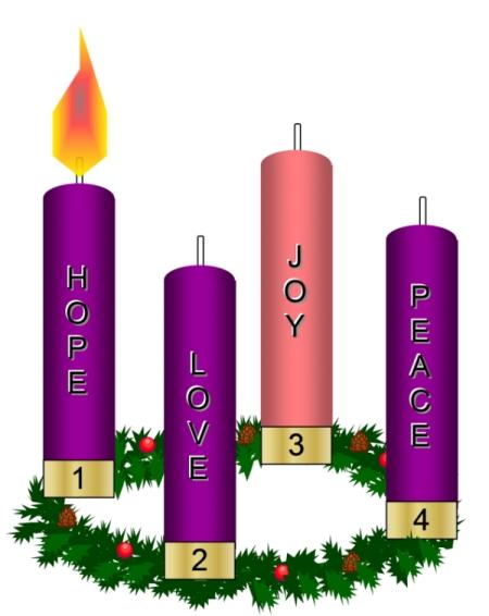 For Advent Bulletin Clipart - Clipart Kid