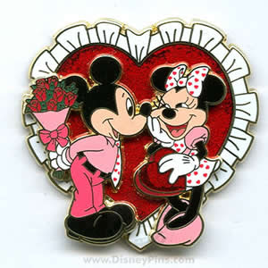 Mickey Mouse And Minnie Mouse Kissing   Get Domain Pictures