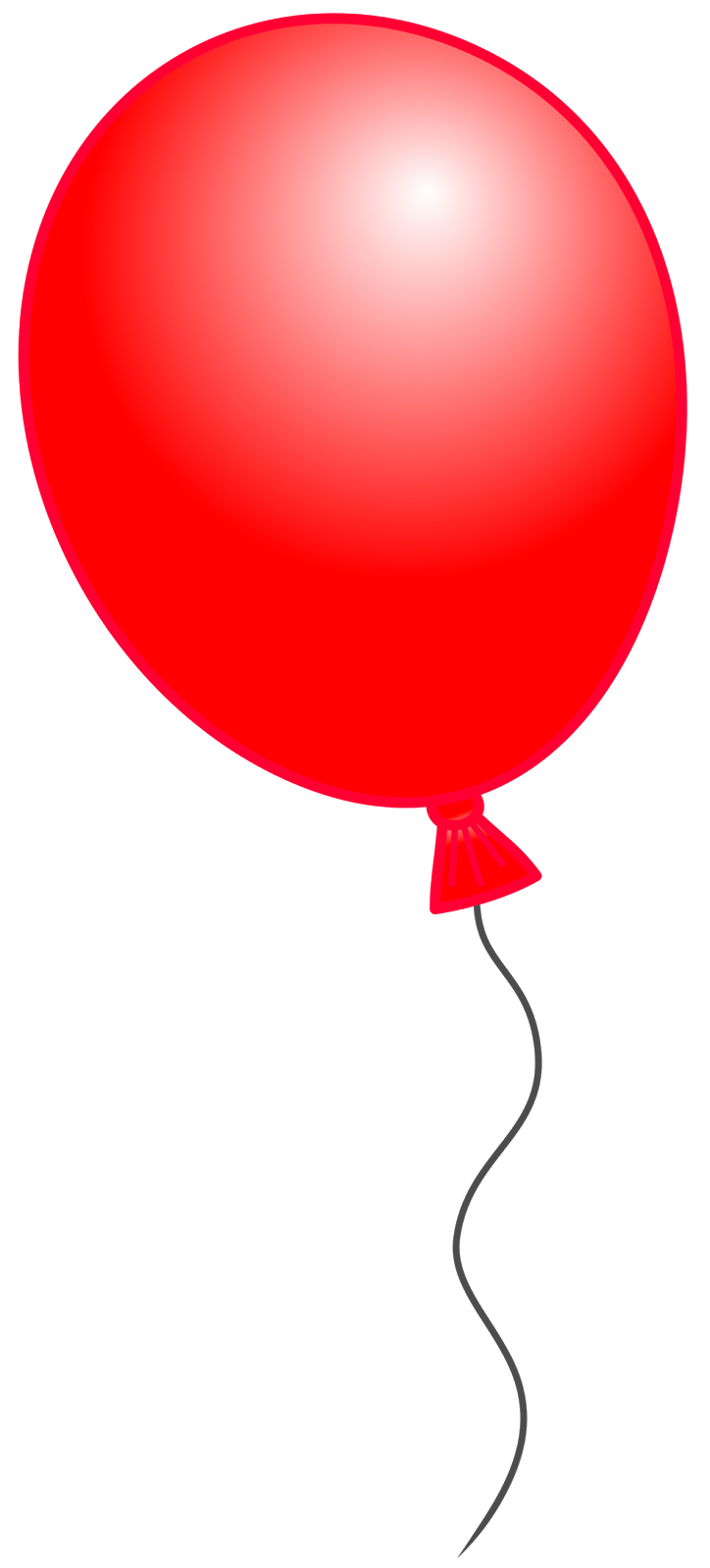 Red Balloon Clipart - Clipart Kid