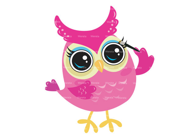 pink owl sleeping baby clipart clipart suggest Cute Cartoon Owl Clip Art colourful owl clipart