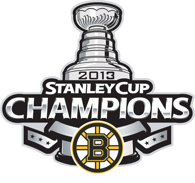 Boston Bruins Nhl Stanley Cup Champion Logo 2013  Hts Nhl Bob 2013 02