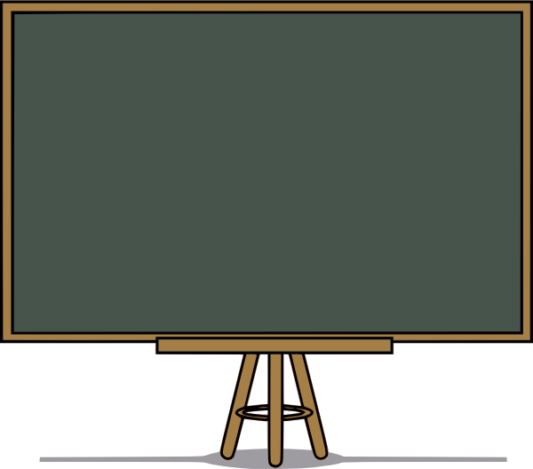 Chalk Board Clip Art At Clker Com   Vector Clip Art Online Royalty