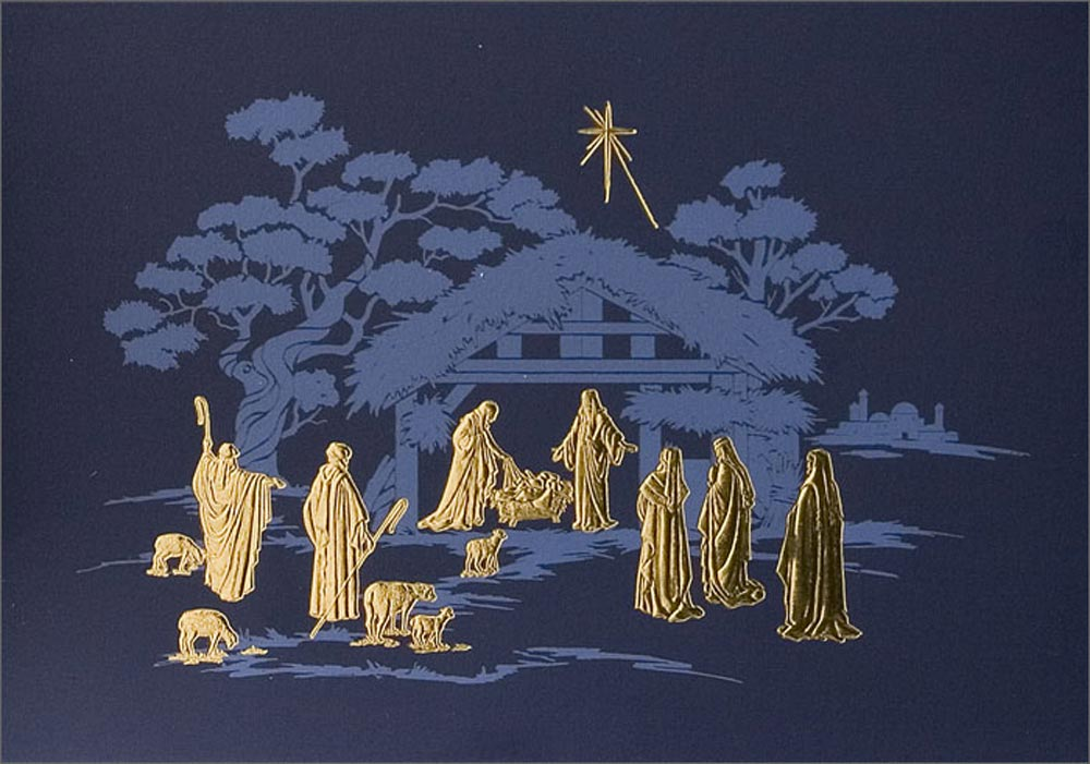 Christmas Cards   Religious   Nativity   Religious Christmas Card