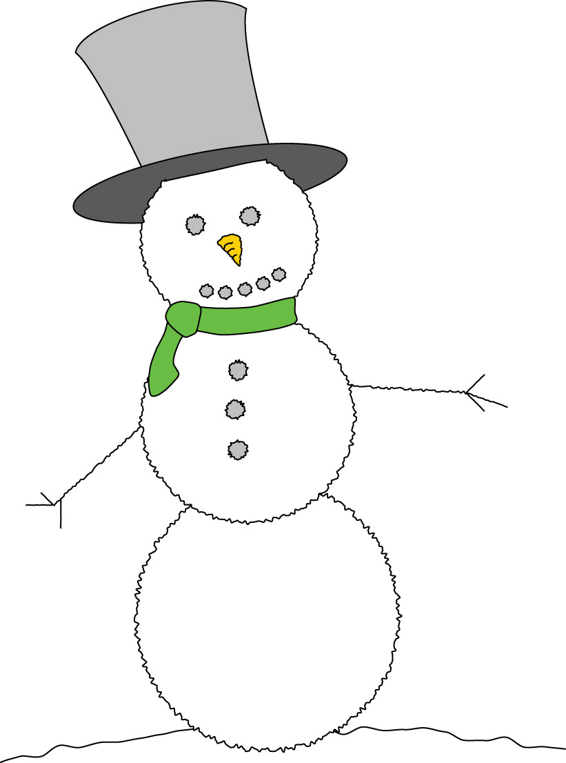 Funny christmas snowman clipart suggest