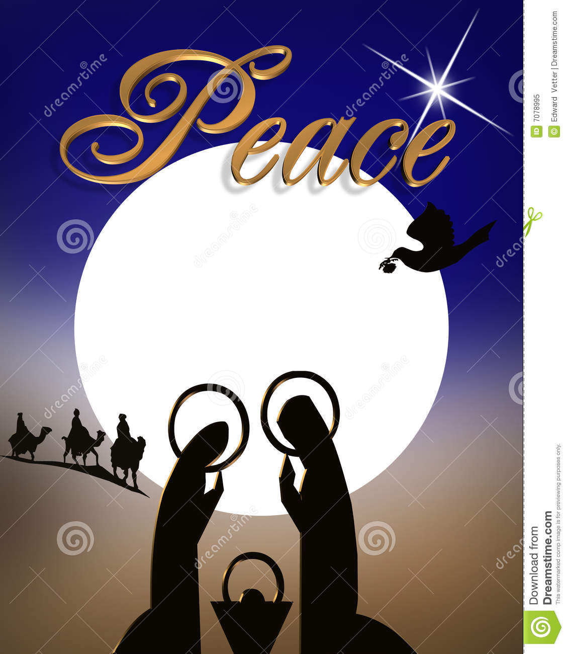 Card Christmas Religious Clipart - Clipart Kid