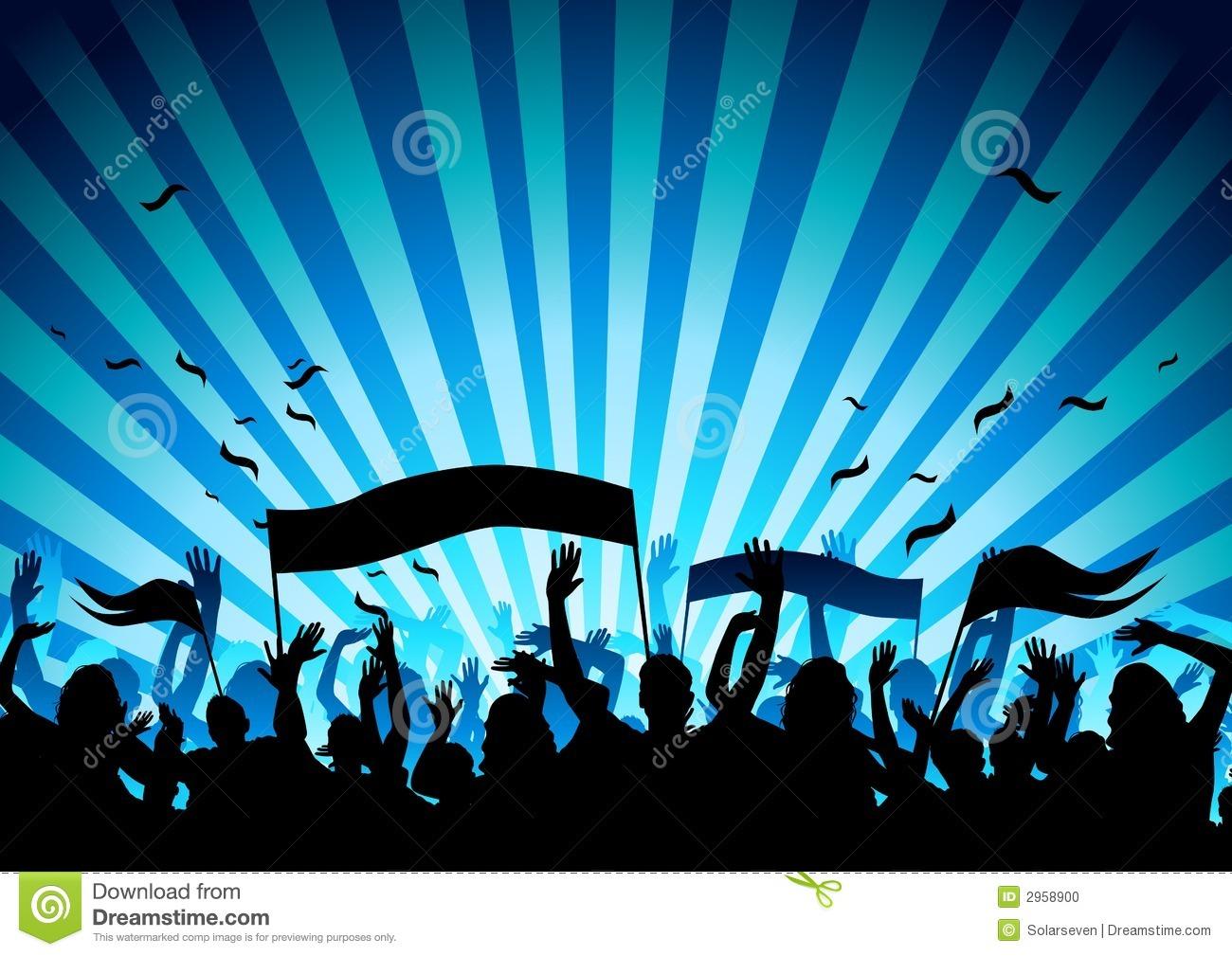 Concert Crowd Clip Art – Cliparts