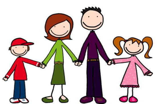 Cartoon Family Members Clipart - Clipart Kid