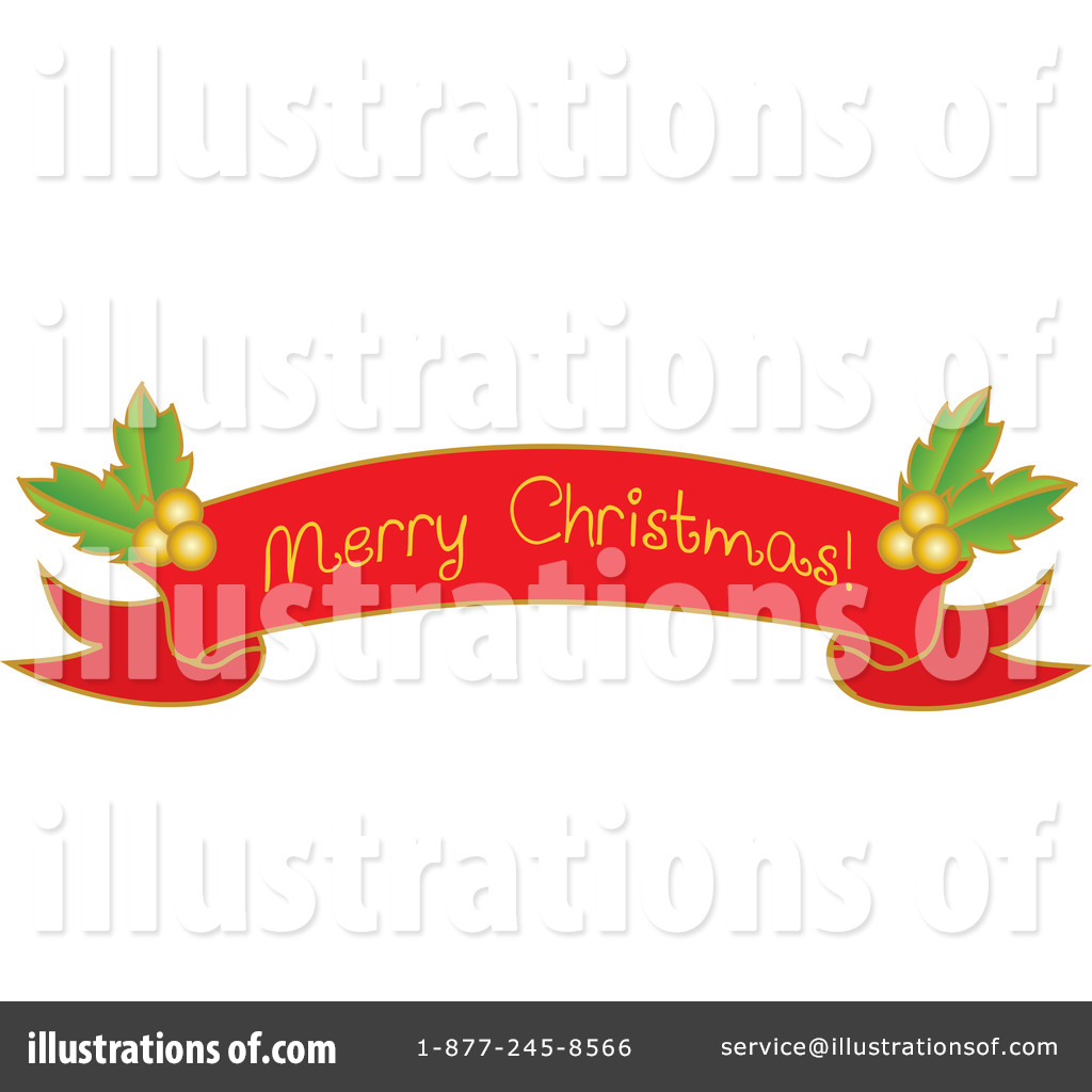 free clipart merry christmas banner - photo #24