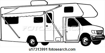 Cartoon Rv Motorhome Clipart - Clipart Suggest
