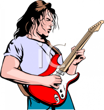 Musician Clipart Illustrations   Graphics   Art Guitar 189775 Tnb