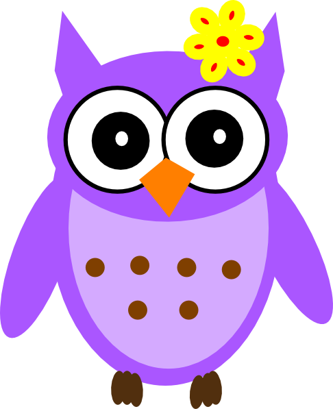Pink Owl Sleeping Baby Clipart - Clipart Suggest