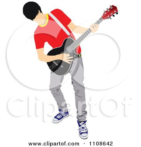 Royalty Free  Rf  Guitarist Clipart   Illustrations  18