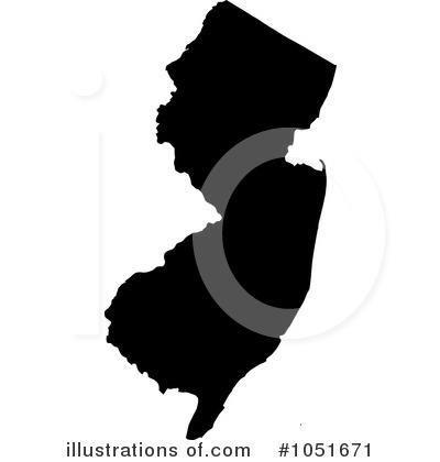 Royalty Free  Rf  New Jersey Clipart Illustration By Jamers   Stock
