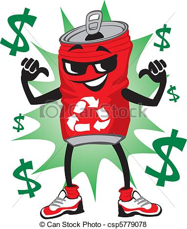 Aluminum Can Recycling Clipart - Clipart Kid
