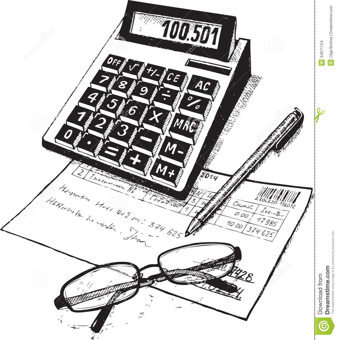 Clip Art Accounting Clip Art accounting professional clipart kid subjects of attribute the accountant drawing on paper