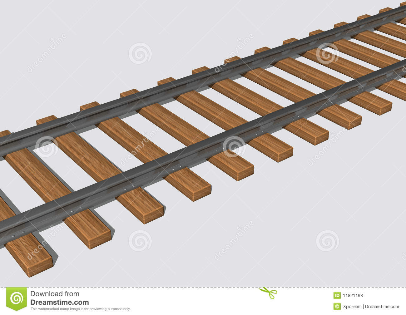Perspective Train Track Clipart - Clipart Suggest