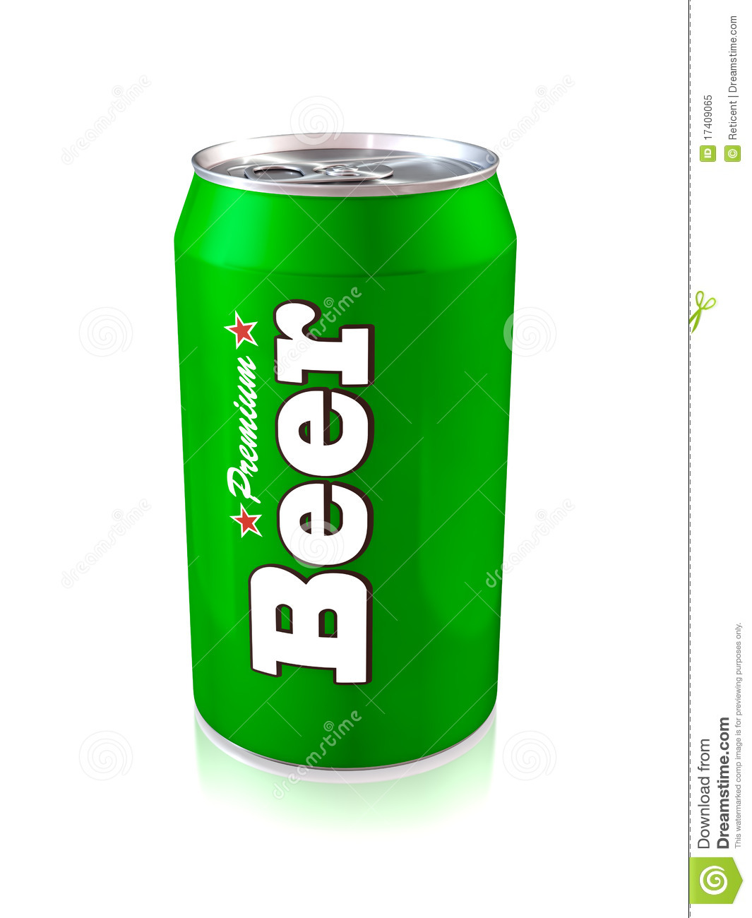 Beer Can Royalty Free Stock Photo   Image  17409065