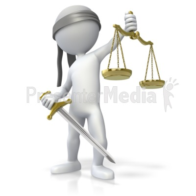 Blind Justice   Education And School   Great Clipart For Presentations