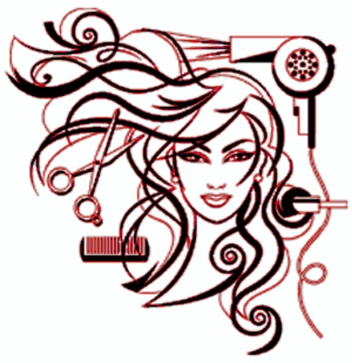 cosmetology logos clipart clipart kid