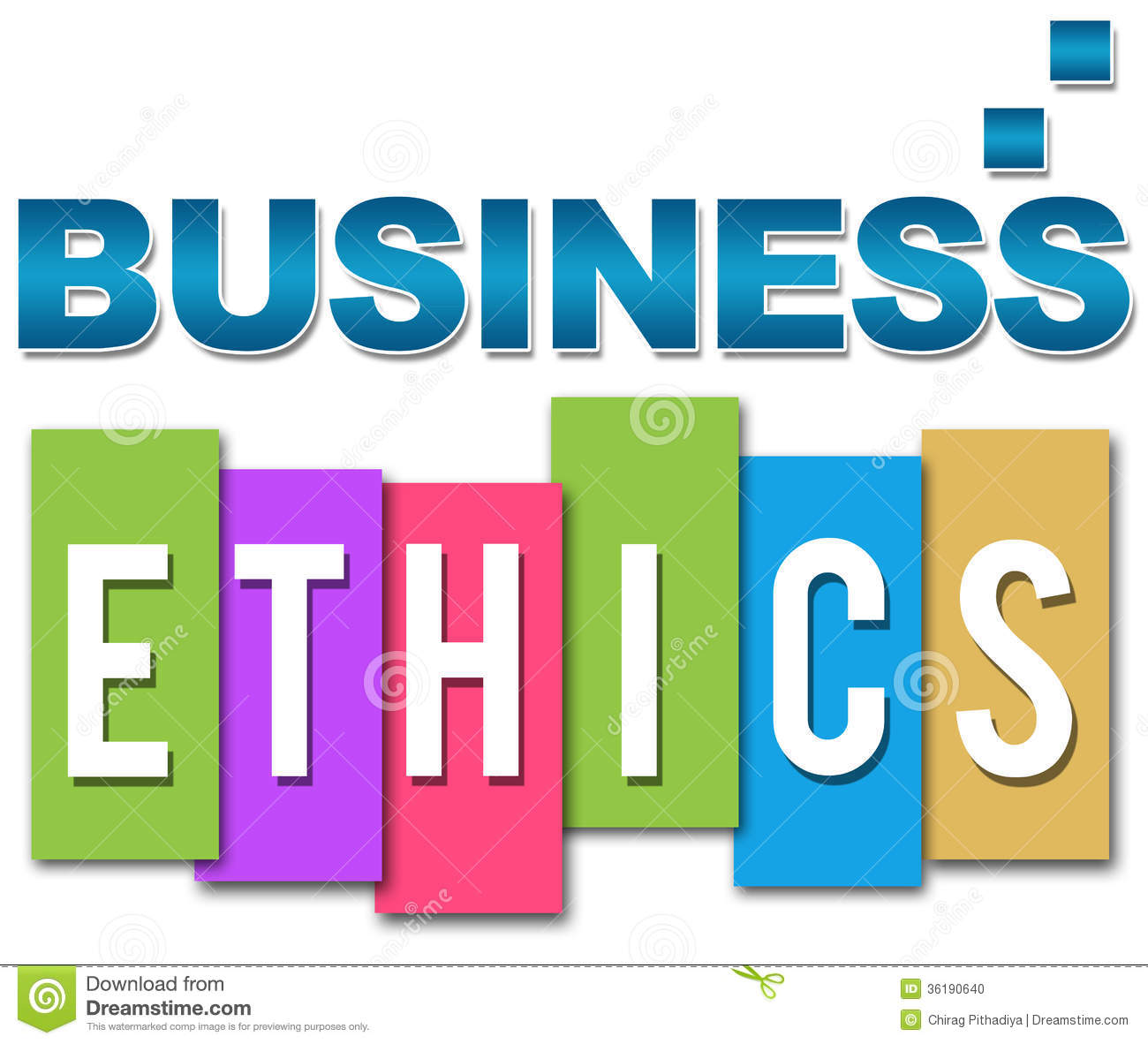 buisness ethics Integrity in business the woolf recommendations include the need to establish and apply a global code of ethical business conduct as part of icaew's thought .